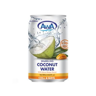 AwA Mango Sparkling Coconut Water - 330ml