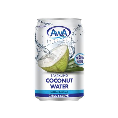 AwA Natural Sparkling Coconut Water