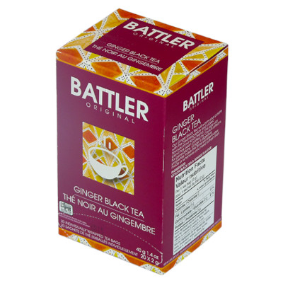 Battler Original Ginger Black Tea - 20 x 2g