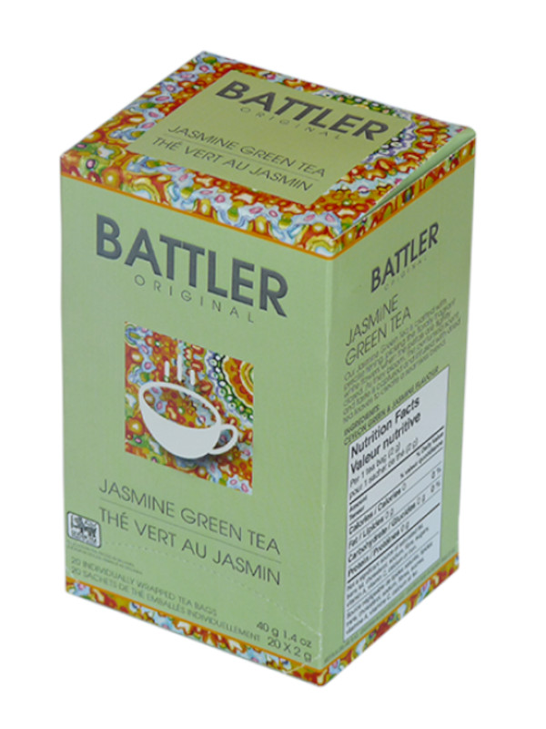 Battler Original Jasmine Green Tea - 20 x 2g
