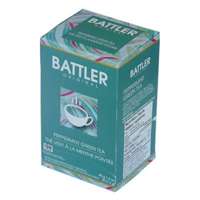 Battler Original Peppermint Green Tea - 20 x 2g