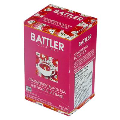 Battler Original Strawberry Black Tea - 20 x 2g