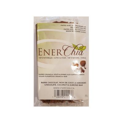 Enerchia Chocolate Coconut Almond Vegan Granola Bar - 75g