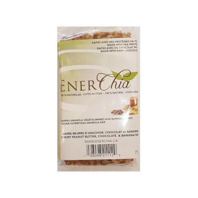 Enerchia Peanut Butter Banana Chocolate Vegan Granola Bar - 75g