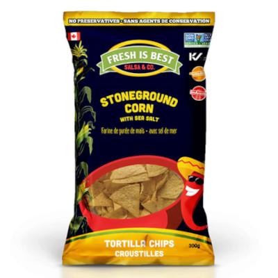 Fresh Is Best Stoneground Corn With Sea Salt Tortilla Chips - 300g