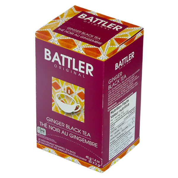 Battler Original Ginger Black Tea - 20 x 2g