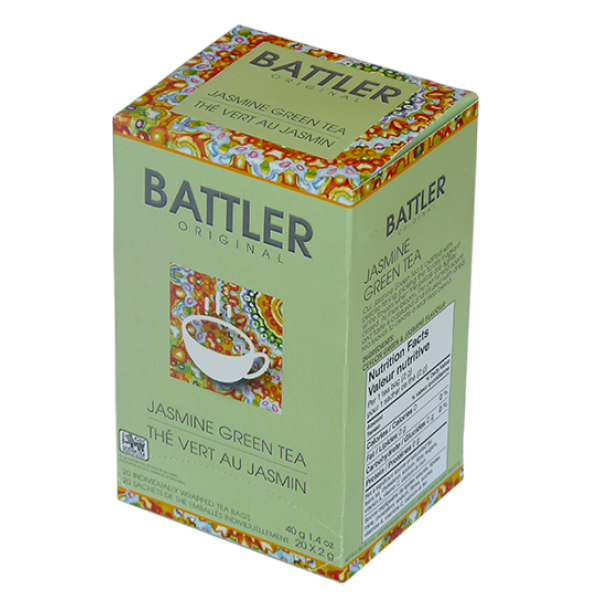 Battler Original Jasmine Green Tea - 20 x 2g