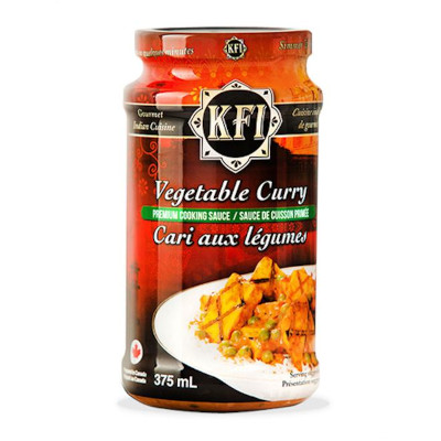 KFI Vegetable Curry Cooking Sauce - 375ml