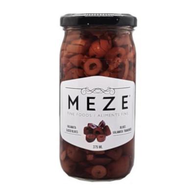 Meze Kalamata Sliced Olives - 375ml
