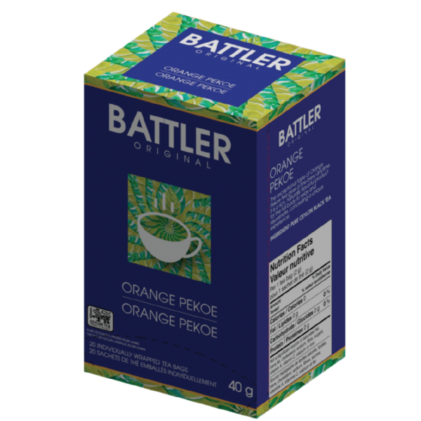 Battler Original Orange Pekoe Tea - 20 x 2g