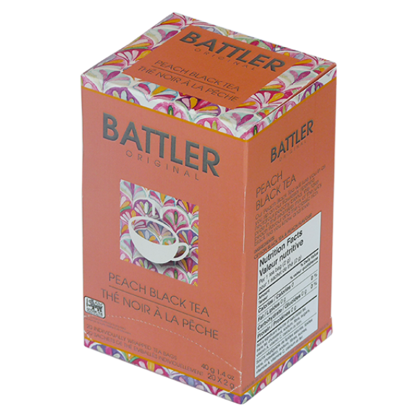 Battler Original Peach Black Tea - 20 x 2g