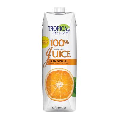 Tropical Delight 100% Orange Juice - 1 Litre
