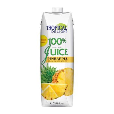 Tropical Delight 100% Pineapple Juice - 1 Litre
