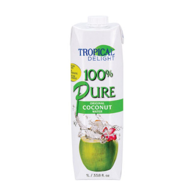 Tropical Delight 100% Coconut Water - 1 Litre